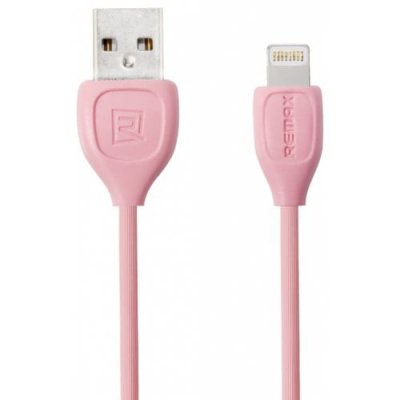 REMAX 1m 8 Pin TPE Data Cable for iPhone - PINK