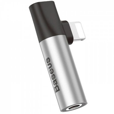Baseus CALL43 - S1 3.5mm Female Connector Adapter - GRAY CLOUD