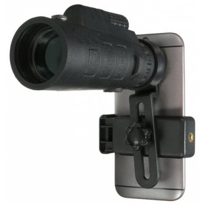 35 x 50 Zoom HD Phone Telescope - BLACK