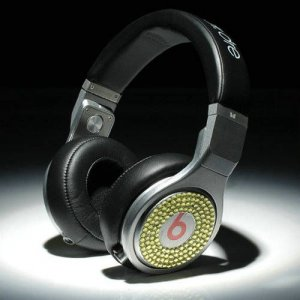 Beats By Dr Dre Pro High Performance Headphones diamond black/silver