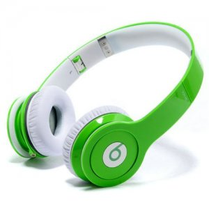 Beats By Dr Dre Solo High-Definition On-Ear Green Headphones