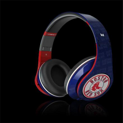 Beats by Dr Dre Studio Over-Ear Redsox Headphones
