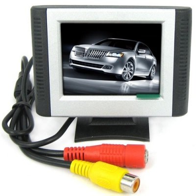 2.5 Inch Security Digital LCD Monitor with 2-channel Video Input