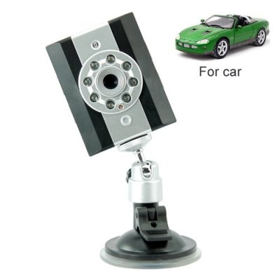 Portable Car Camera with Sound Recording