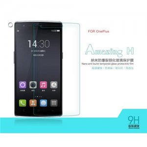 NILLKIN Amazing Nanometer H Anti-Explosion Tempered Glass Screen Protector for OnePlus One Smartphone