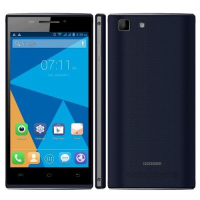 DOOGEE Turbo Mini F1 4G Smartphone 4.5 inch QHD Screen 64bit MTK6732 Quad Core 1GB 8GB - Black