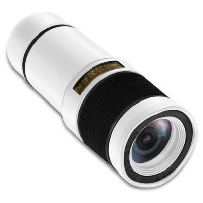 High Definition 14X Zoom Camera Telescope Telephoto - WHITE