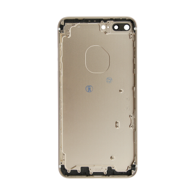 iPhone 7 Plus Rear Case - Gold (No Logo)