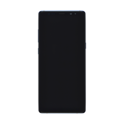Samsung Galaxy Note 8 Screen Assembly with Frame - Blue (Premium)