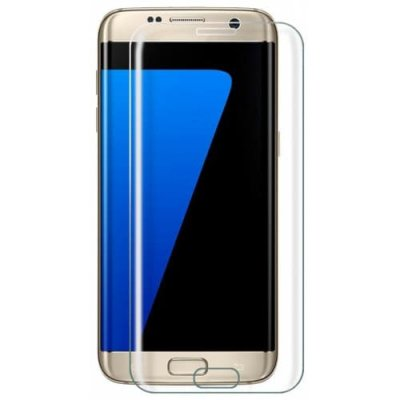2PCS Screen Protector for Samsung Galaxy S7 Edge High Clear Tempered Glass - TRANSPARENT