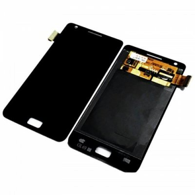 LCD Cellphone Screen Digitizer Assembly Replacement for Samsung Galaxy S2 - BLACK