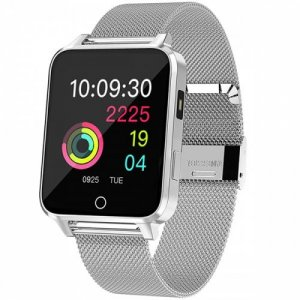 Microwear X9 1.54 inch Smart Bracelet Bluetooth Sports Watch - SILVER
