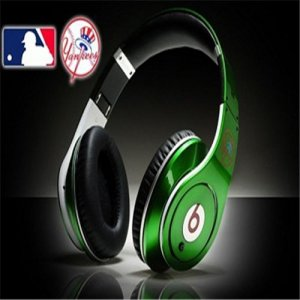 Monster Beats By Dr Dre Studio MLB New York Yankees Green