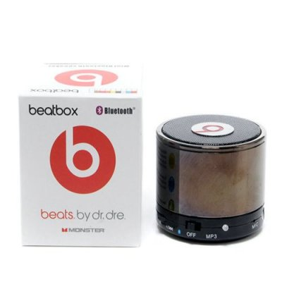 Beats By Dr Dre Beatsbox Portable Bluetooth Mini Speakers Brown