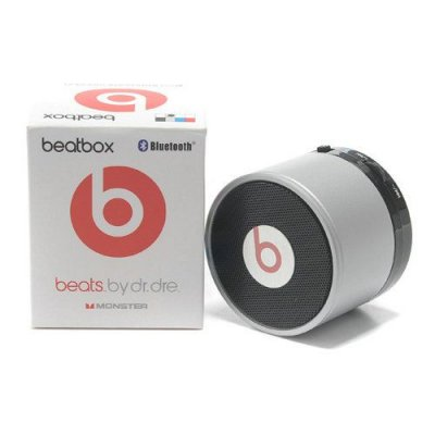 Beats By Dr Dre Pill Bluetooth Speakers Mini Silver