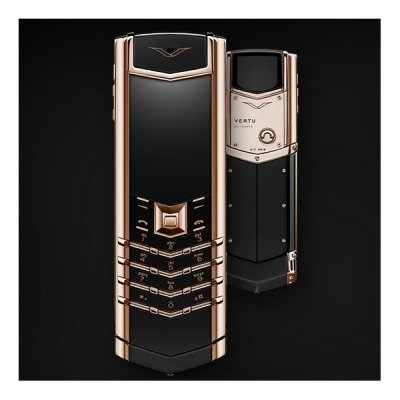 Vertu Signature RED GOLD BLACK CERAMIC 2GB RAM 16GB ROM luxury Phone