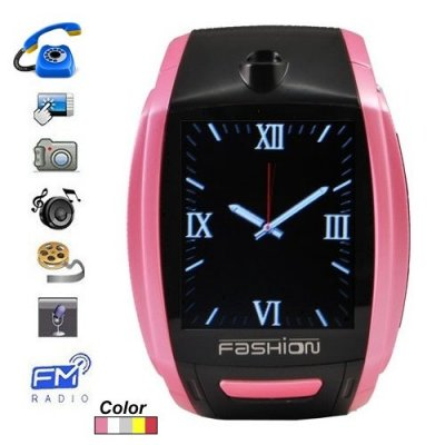 1.8'' Touch Screen Watch Moblie Phone Support Wireless Transmission + Compass