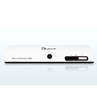 The Fifth Element H300 A10 TV Set Top Box With Camera Android 9.1 1GB 4GB White