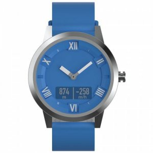 Lenovo Watch X Plus Double Layers Silicone Smart Watch Sports Version - SILK BLUE