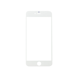 iPhone 6 Plus Glass Lens Screen - White