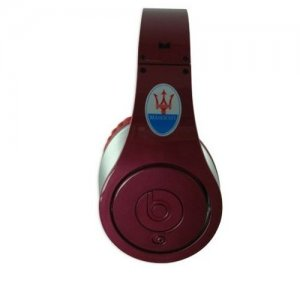 Beats by Dr. Dre Studio Maserati Limited Edition Over-Ear Red Headphones