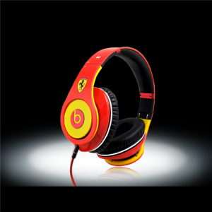 Beats By Dr Dre Ferrari Limited Edition Studio Headphones-Yellow/Red
