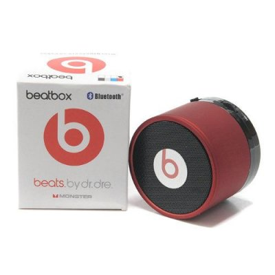 Beats By Dr Dre Pill Bluetooth Speakers Mini Red