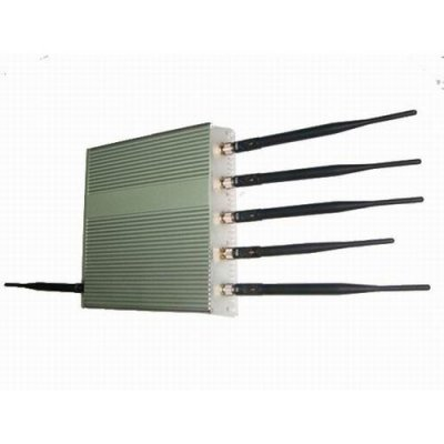 15W 6 Antenna Mobile Phone GPS WiFi Jammer