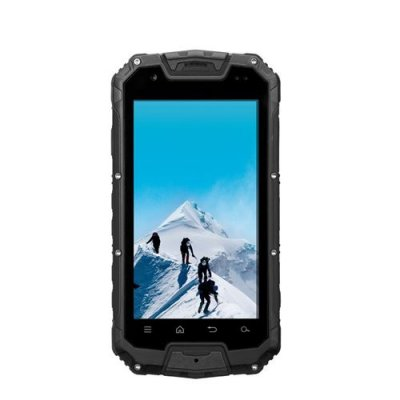 Snopow M9 Rugged Smartphone 4.5 inch QHD Screen Walkie Talkie IP68 Waterproof - Black