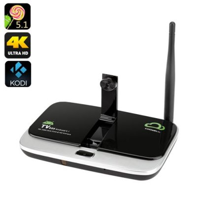 4K Android TV Box - RK3368 CPU, 2GB RAM, 2MP Camera, 2.4GHz + 5GHz 802.11ac Wi-Fi, Kodi, Android 11.0, Quad-Core Mail-T6X series