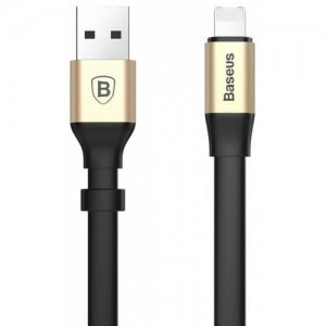 Baseus Simple Series 2 in 1 Charge Data Transfer Cord 23CM - TYRANT GOLD