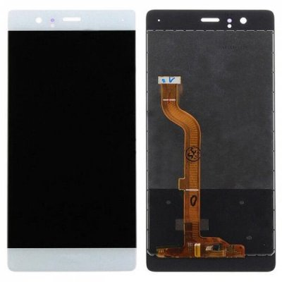 White LCD Screen Digitizer Full Assembly for Huawei P9 - WHITE