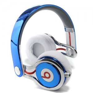 Beats By Dr Dre Mixr High Performance Headphones Navy Blue