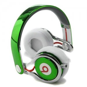 Beats By Dr Dre Mixr High Performance Headphones Navy Green