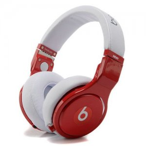 Beats By Dr Dre PRO HEAT Headphones Red