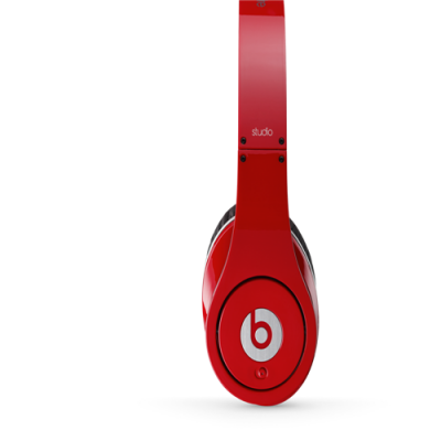 Beats by Dr Dre Studio Over-Ear Red Headphones