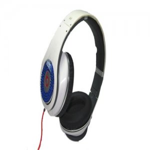 Monster Beats By Dr. Dre Studio Headphones Diamond White Blue