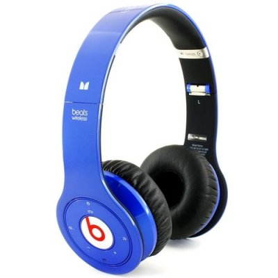 Beats By Dr Dre Solo Wireless Bluetooth Over-Ear Blue Headphones