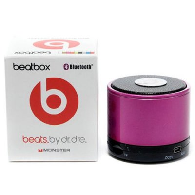 Beats By Dr Dre Beatsbox Portable Bluetooth Mini Purple Speakers