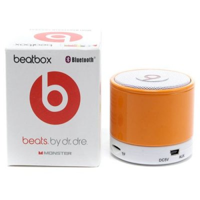 Beats By Dr Dre Beatsbox Portable Bluetooth Mini Speakers Orange