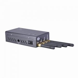 Portable Cell Phone Jammer with GSM /GPSL1 + WIFI