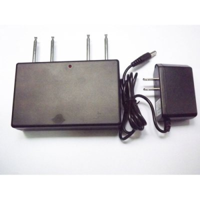 4 Band High Power 310MHz 315MHz 390MHz 433MHz Remote Control Jammer 50 Meters Radius