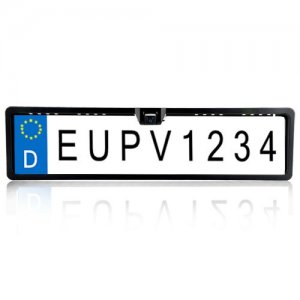 Rearview Camera - Waterproof, EU License Plate