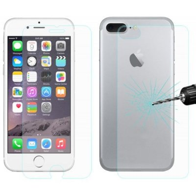 Hat Prince Tempered Glass Protective Film Kit for iPhone 7 Plus - TRANSPARENT
