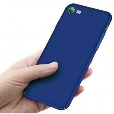 for Iphone 7 Case Shock-Absorptionskid-Proof Case Slim Fit Shell Hard Plastic Full Protective Anti-Scratch Resistant Cover Case - BLUE