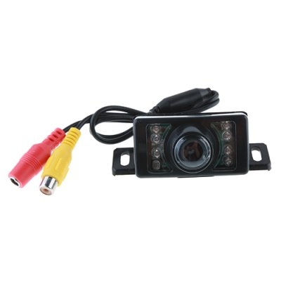 7 LED Waterproof Color CMOS/CCD Car Rear View Reverse Backup Camera E350