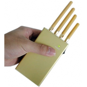 Portable GPS Jammer, 2G and 3G Mobile Phone Signal Jammer
