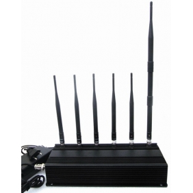 6 Bands Signal Jammer - Lojack Jammer - GPS Jammer - 2G 3G Cell Phone Jammer