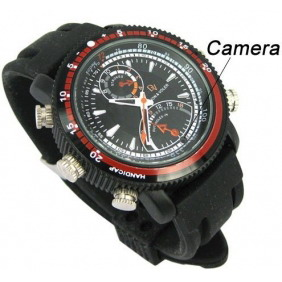 Waterproof HD DVR Watch Support TF Card