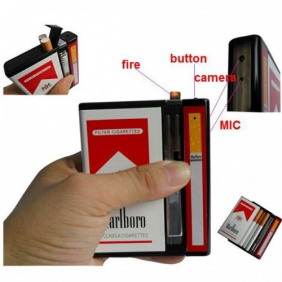 Spy Video Cigarette Box